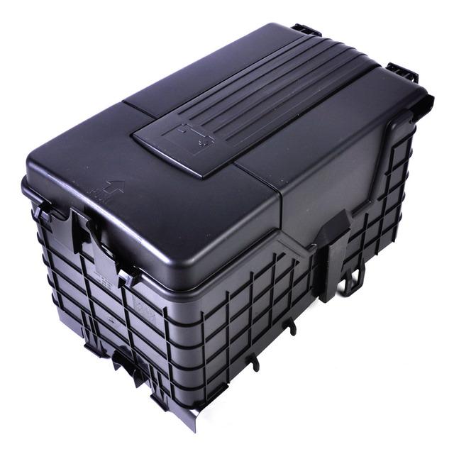 Nova 3 Pcs Alta Qualidade Plástico Bandeja Da Bateria Da Tampa Da Guarnição para VW Jetta Passat Golf Touran Tiguan Skoda 1KD 915 443