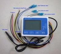 NEW ZJ LCD F7 flow sensor meter digital display filter controller LCD for RO water machine filter