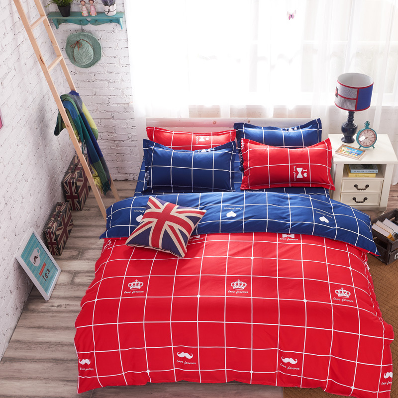 2016 Juegos de cama de algodón de alta calidad para niños Ropa de - Textiles para el hogar