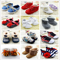 Baby Girls Boy Shoes Soft Sole Hot Sale Kids Toddler Infant Boots Prewalker First Walkers 29 Colors
