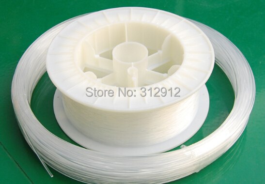 1.5mm diameter/700m/roll PMMA fiber optic cable end glow for decoration lighting ...