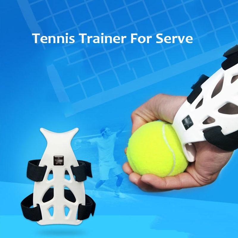 Tennis Ball Machine Practice Serve Training Tool Self-study Trainer Correct Wrist Posture Padel Accessories Raquete De Tenis