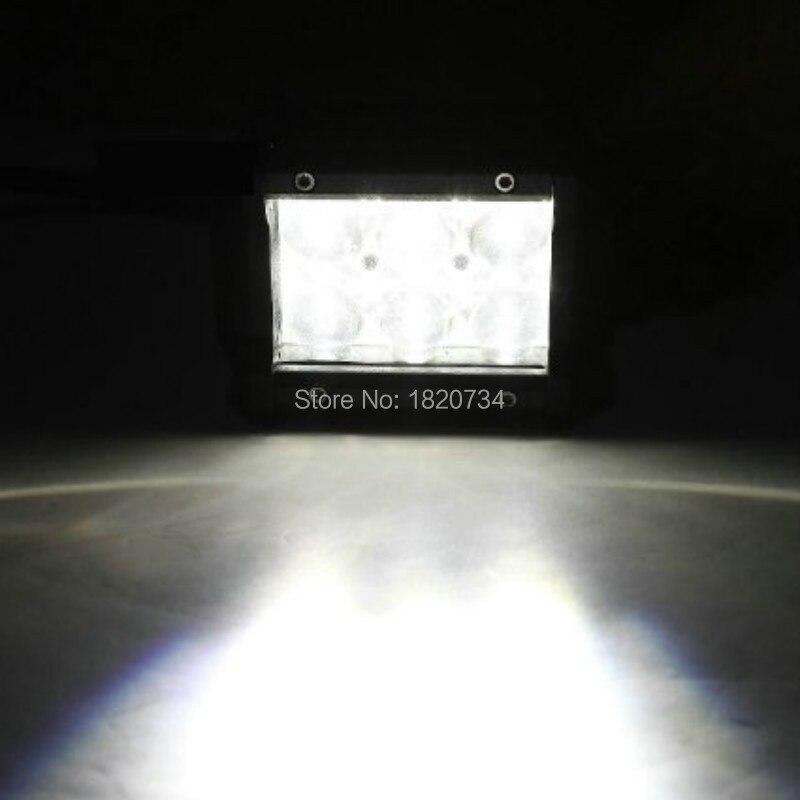 4 18 Вт светодиодные панели светодиодный свет для Jeep ATV UTV Гольф корзину освещения грузовиков пятно луча 12 В 24 В