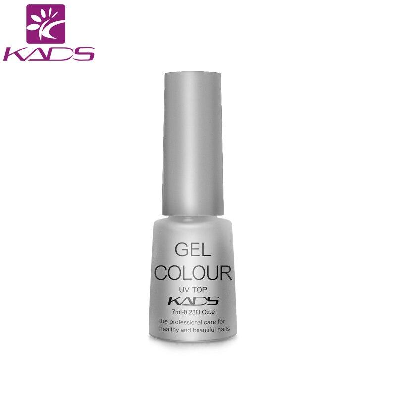 KADS УФ-гель для ногтей 7 мл TOP Coat ногтей грунтовка для геля длительный необходимо краска для ногтей маникюр Светодиодный УФ для ногтей гель Top