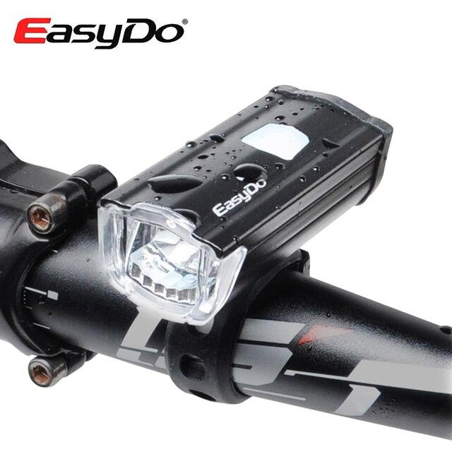 EasyDo USB Oplaadbare Fiets Koplamp Mtb Fietsstuur Led verlichting ...
