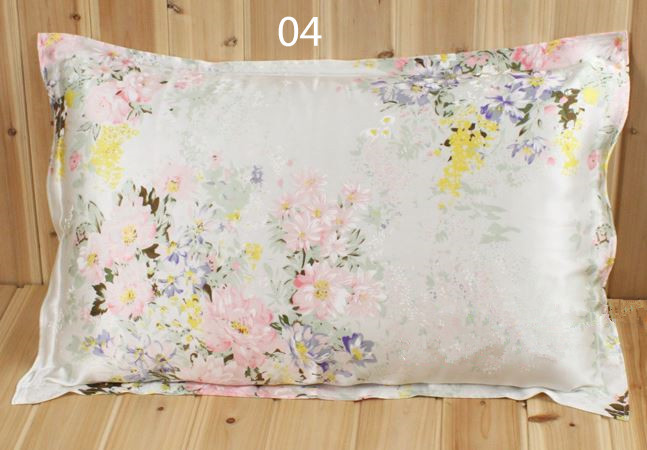 100 Mulberry Silk Pattern Pillowcases Printed Eco