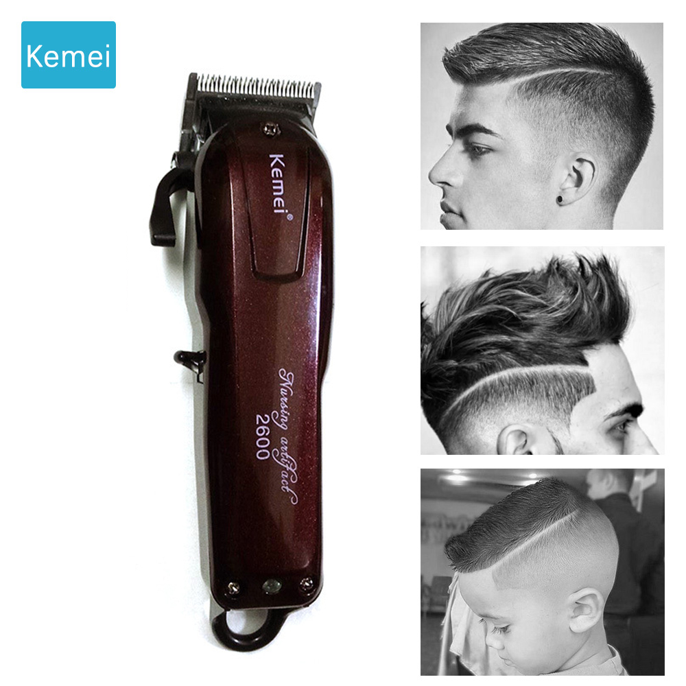 Kemei Professional hair clipper electric trimmer hair cutting machine Hair care & styling tools Trimer tondeuse cheveux Razor 4 km 4801 hair trimmer clipper shaver professional adult electric charging clipper razor barber tools cutting machine for man