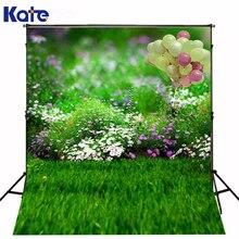 300CM*200CM(about 10ft*6.5ft) backgrounds Flower garden green balloon photography backdrops photo LK 1406