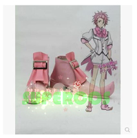 Free Shipping Cute High Earth Defense Club Love Zao Ryu Battle Lover Vesta Cosplay Shoes Boots