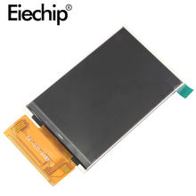 Ips display 3.5 polegada módulo de tela tft lcd ili9488 unidade ic spi/mcu interface serial io portas painel 320*480 para arduino stm32(China)