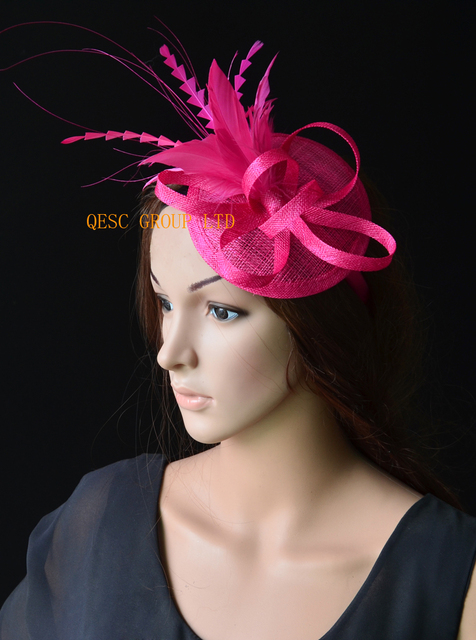 642b6e3a7 US $29.99 |NEW 20 colours Hot pink fuchsia sinamay fascinator hat for  Kentucky derby,wedding,party,melbourne cup,ascot races.FREE SHIPPING-in  Women's ...