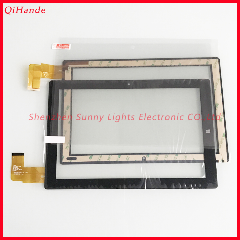 Original New Touch HSCTP-747-10.1-V0 For Chuwi Hi10 Tablet PC Touch Screen Touch Glass For Chuwi Hi10 CW1515 Tempered Glass Film