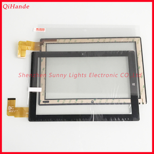 Image 1 - Original New Touch HSCTP 747 10.1 V0 For Chuwi Hi10 tablet PC Touch Screen Touch Glass for Chuwi Hi10 CW1515 Tempered glass Film