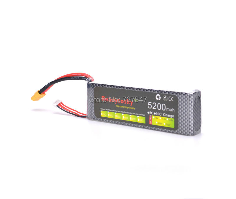 LiPo Battery 3S lipo battery 11.1v 5200mAh 35C rc helicopter rc car rc boat quadcopter remote control toys Li-Polymer battey