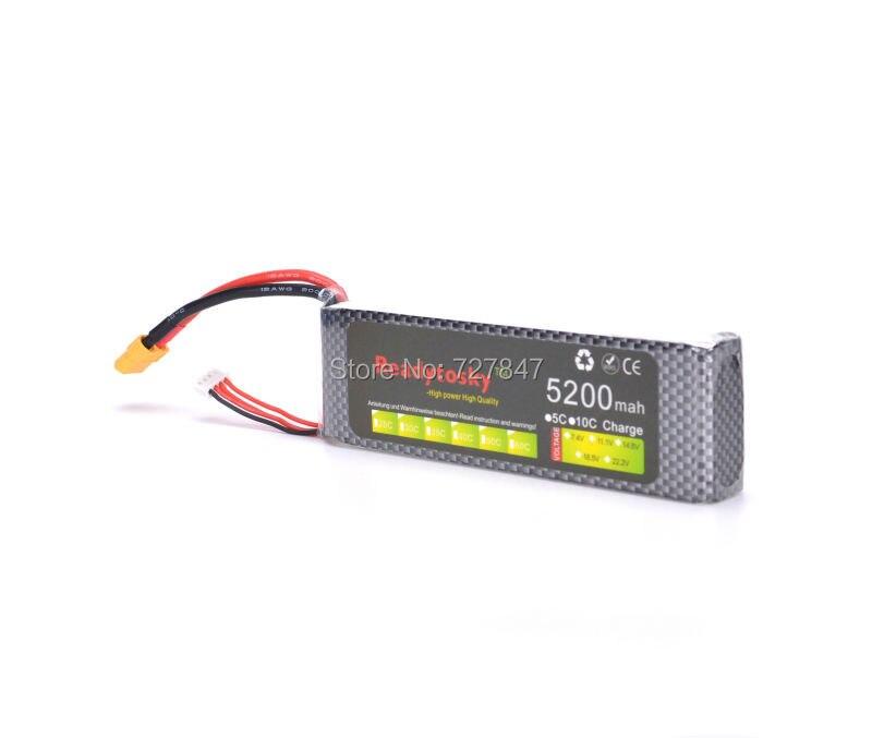 Batteria LiPo 3 S lipo battery 11.1 v 5200 mAh 35C rc elicottero rc auto barca del rc quadcopter remote control giocattoli Li-polimero battey