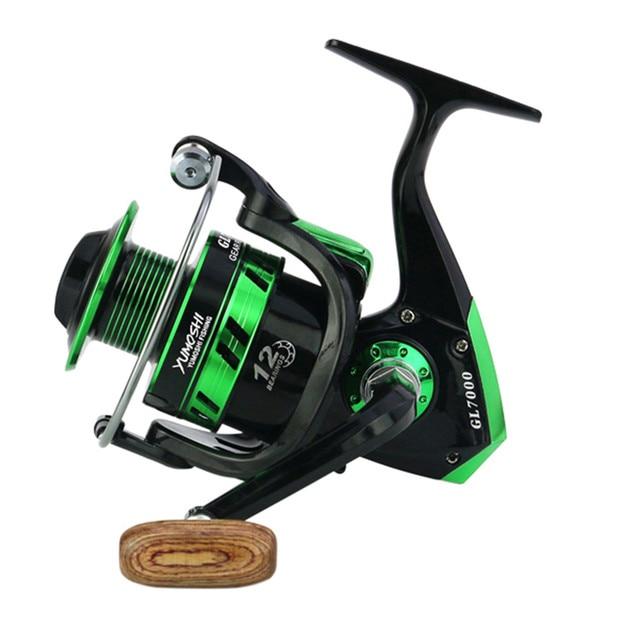 Swinger rybackiej pełna metalowy kołowrotek spinningowy 5.5:1 10BB kołowrotki castingowe 8kg/17Lb kołowrotki wędkarskie Olta Malzemeleri Pesca