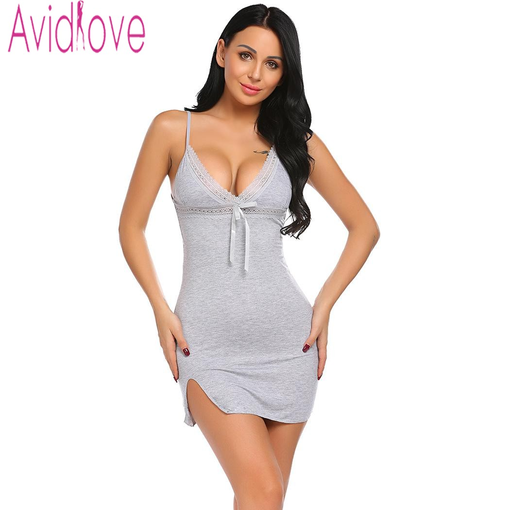 Avidlove Sexy Cotton Nightgown…