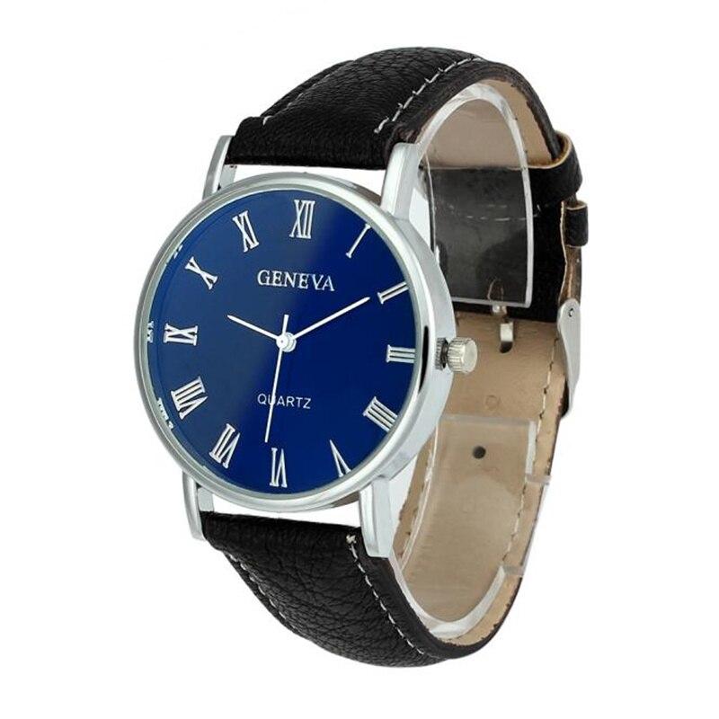 Relogio Feminino Relogio Masculino Men Watches Women Blue Ray Glass Quartz Analog Wrist Watch Watches Quartz Watch Hot Sales