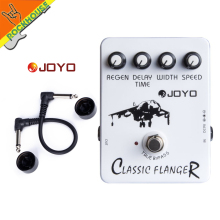 JOYO JF-07 Classic Flanger metallic guitar effect pedal  Speed Regain Width and Delay Time
