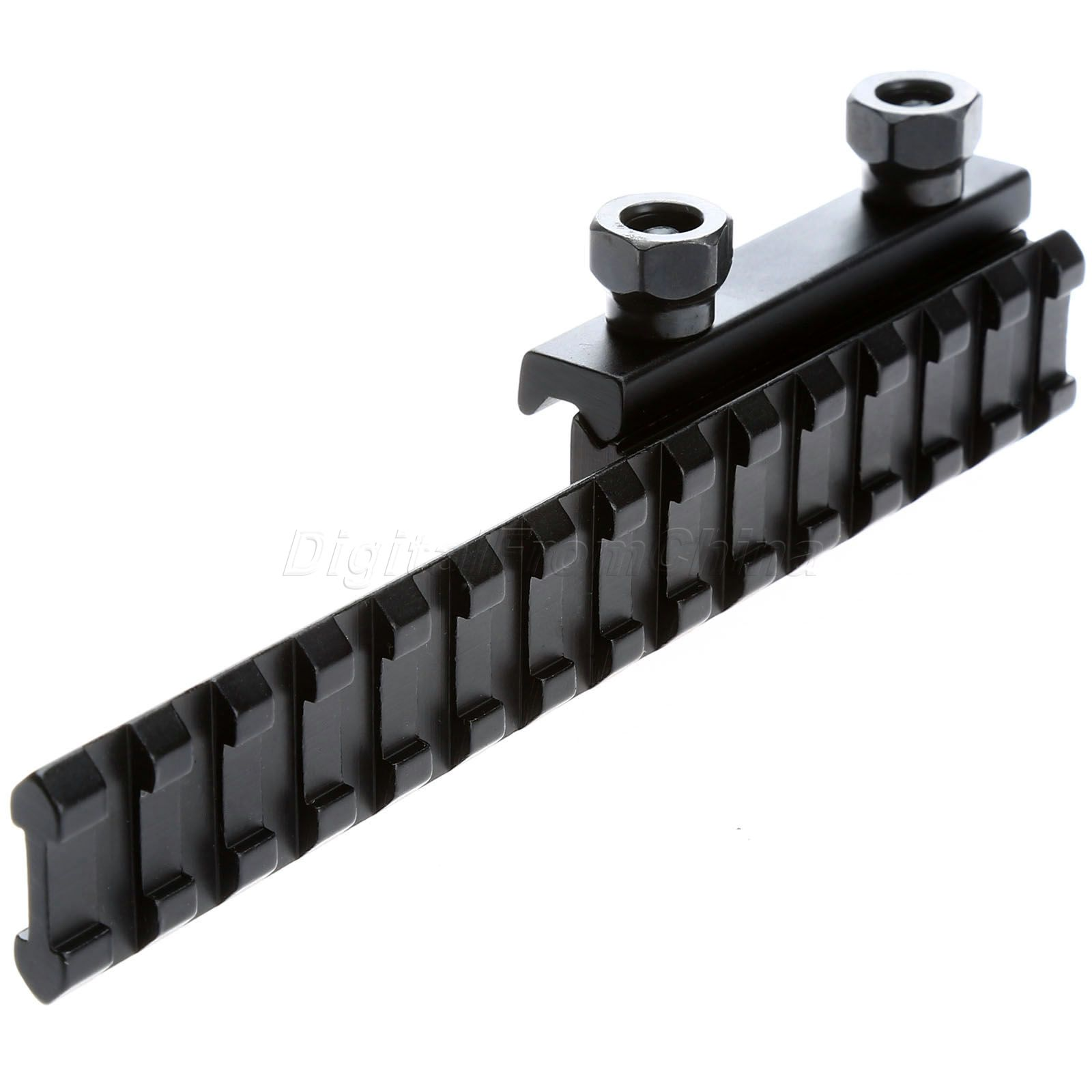 Tactical Quick Detach Riser Scope Rail Mount Fits Weaver Picatinny Rails
