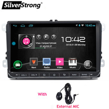 SilverStrong Android8.1 9inch for Passat Radio Car GPS no DVD Player For VW Golf GPS For VW Polo GPS Navigation Android 68S