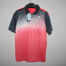Free Printing Name Sportswear sweat Quick Dry breathable badminton shirt Women/Men T-shirt training Exercise POLO T Shirts 1009
