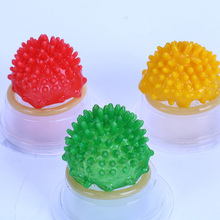 5PCS Ribbed Dotted Condoms