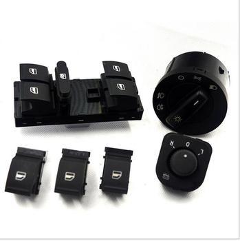 Free shipping Headlight mirror window switch for VW jetta golf 5 tiguan passat CC 5KD941431A 1F0 959 855 1K4 959 857