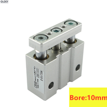 MGJ10-10 MGJ10-5 MGJ10-15 MGJ10-20 Miniature Guide Rod Cylinder Three axis Pneumatic SMC Type