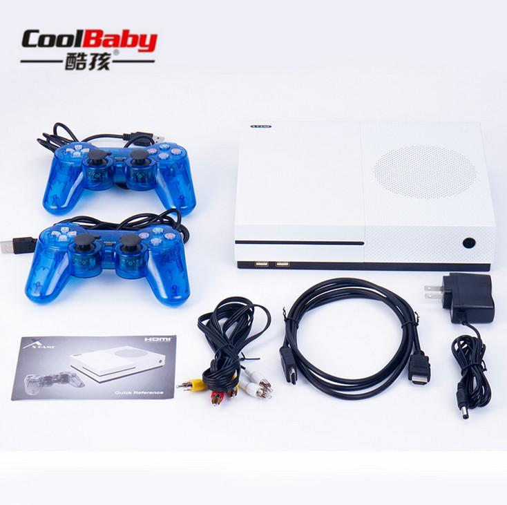 DHL HD Retro Game Consoles 4GB Video Gaming Players TV Console Support HDMI TV Out Built-In 600 Classic Games