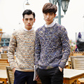 2017 Autumn Winter Men Sweaters and Pullovers O-Neck Long Sleeve Casual christmas Sweater Knitted Cotton Male Sweater  XN039