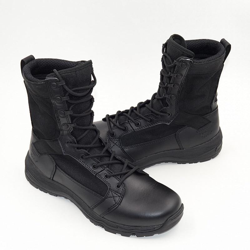 High Quality Timber Land Shoes Military Boots Men Botas Askeri Bot Bota Masculina Army Combat Coturnos Masculino Botas Militares