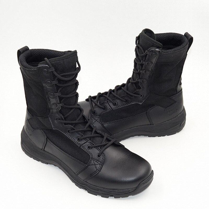 Dos Color Terra De Askeri Bot Desert Color Militares black Do Homens Qualidade Madeira Exército Masculino Botas Alta Coturnos Combate Bota Sapatos Masculina 5XgwqdHxq