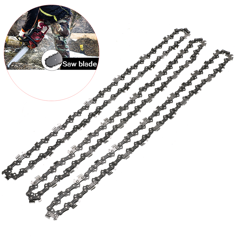3x Chainsaw 3/8LP 0.05 50DL Semi Chisel Chains For Stihl MS170 MS171 MS180 MS181 Electric Saw For Woodworking Chaninsaw Parts3x Chainsaw 3/8LP 0.05 50DL Semi Chisel Chains For Stihl MS170 MS171 MS180 MS181 Electric Saw For Woodworking Chaninsaw Parts