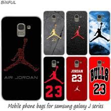 5bfdb6f4ae1 Basketball God Michael Jordan Fashion Hard Phone Cover Case for Samsung J2  J3 J5 J4 J6