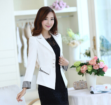 J61692 Grey Fashion OL Blazer Jacket Business Suit