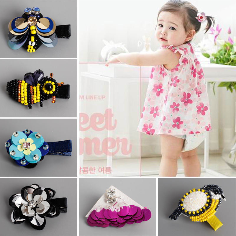 2017 New The Simulation Of Insects Flowers Birds Children Hair Clips Headwear Girls Hair Accessories Baby Hairclip Kids Hairpins amira sabet el mahrouky improvement of jute packages to resist insects during crops storage
