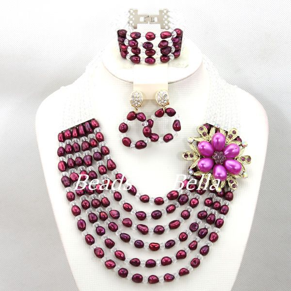 New Design Crystal/Pearl African Beads Wedding Bridal Jewelry Set Fashion Wedding Gift Beads Jewelry 2017 Free Shipping ABC1151New Design Crystal/Pearl African Beads Wedding Bridal Jewelry Set Fashion Wedding Gift Beads Jewelry 2017 Free Shipping ABC1151
