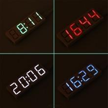 13eed7af DS3231 электронных DIY 0,8 дюймов светодиодная матрица часы комплект 4  цифры Дисплей 5 V