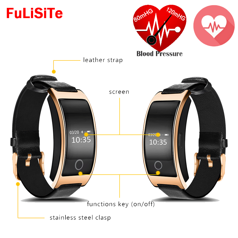 CK11S Smart Wristband Blood Pressure Bluetooth4.0 Heart Rate Monitor Pedometer Fitness For Android phone xiao mi iphone IOS