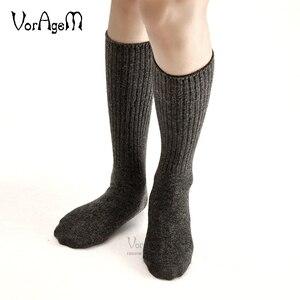 Image 2 - Mens Big size Super thick 80% lambs wool socks high quality classic business brand socks mens casual socks winter 3pairs=1lot