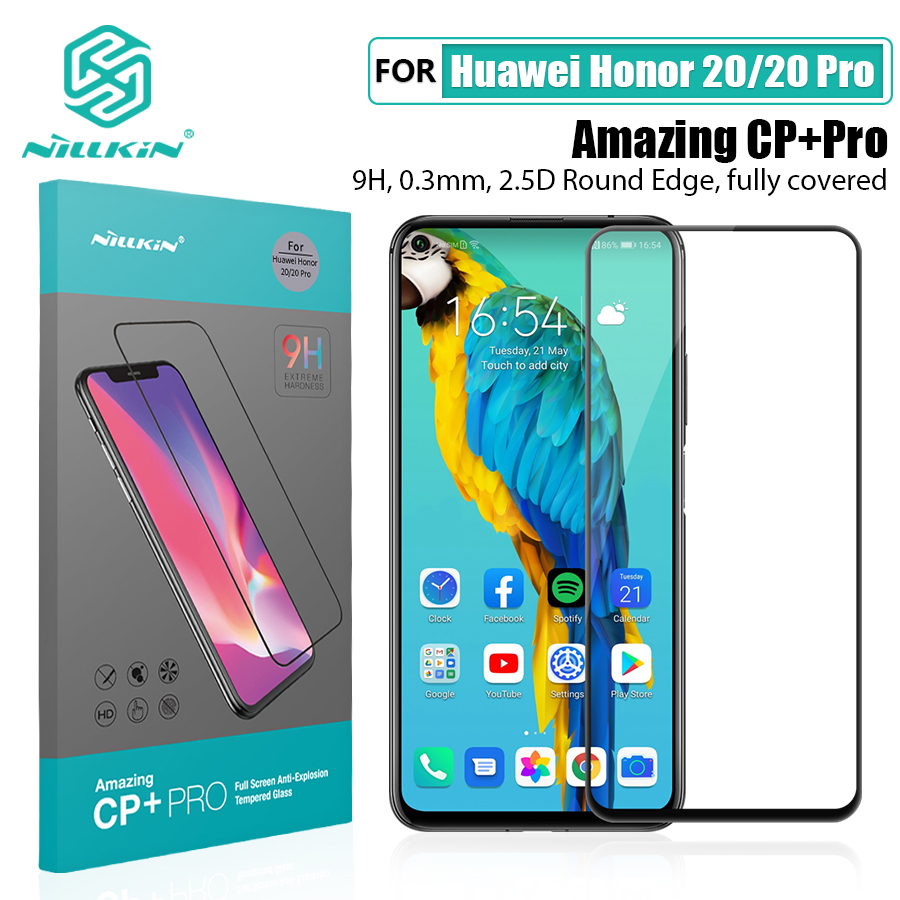 For Huawei Honor 20 Glass Screen Protector NILLKIN Amazing H/H+PRO 9H for Tempered Glass Protector for huawei honor 20 pro 6.26|Phone Screen Protectors| |  - title=