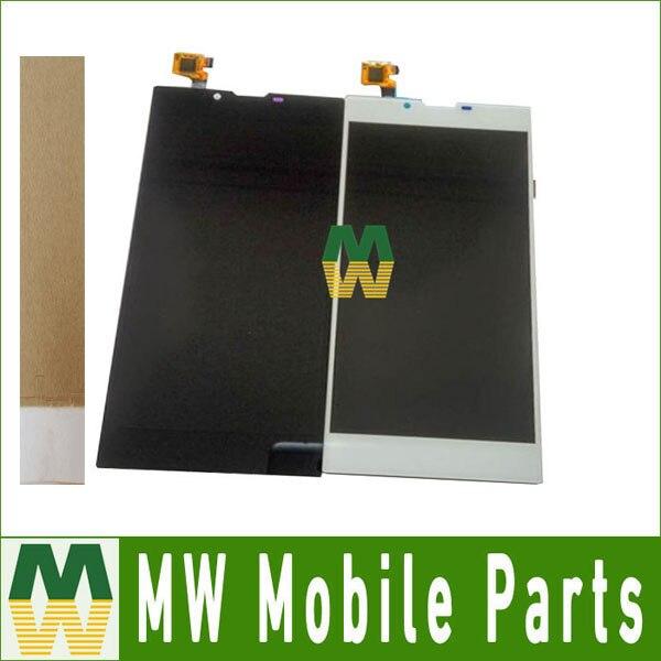 Noir Blanc Couleur 1 pc/lot LCD Display + Assemblée D'écran Tactile Digitizer Pour Archos 55 Platine