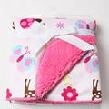 1PC High Quality Baby Soft Blankets Newborn Blanket Super Soft Sleep Cartoon Blanket Infant Blanket 102*76cm TRQ0001