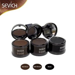 Косметическая пудра для волос, Модифицированная косметическая пудра для стрижки волос с естественным покрытием
