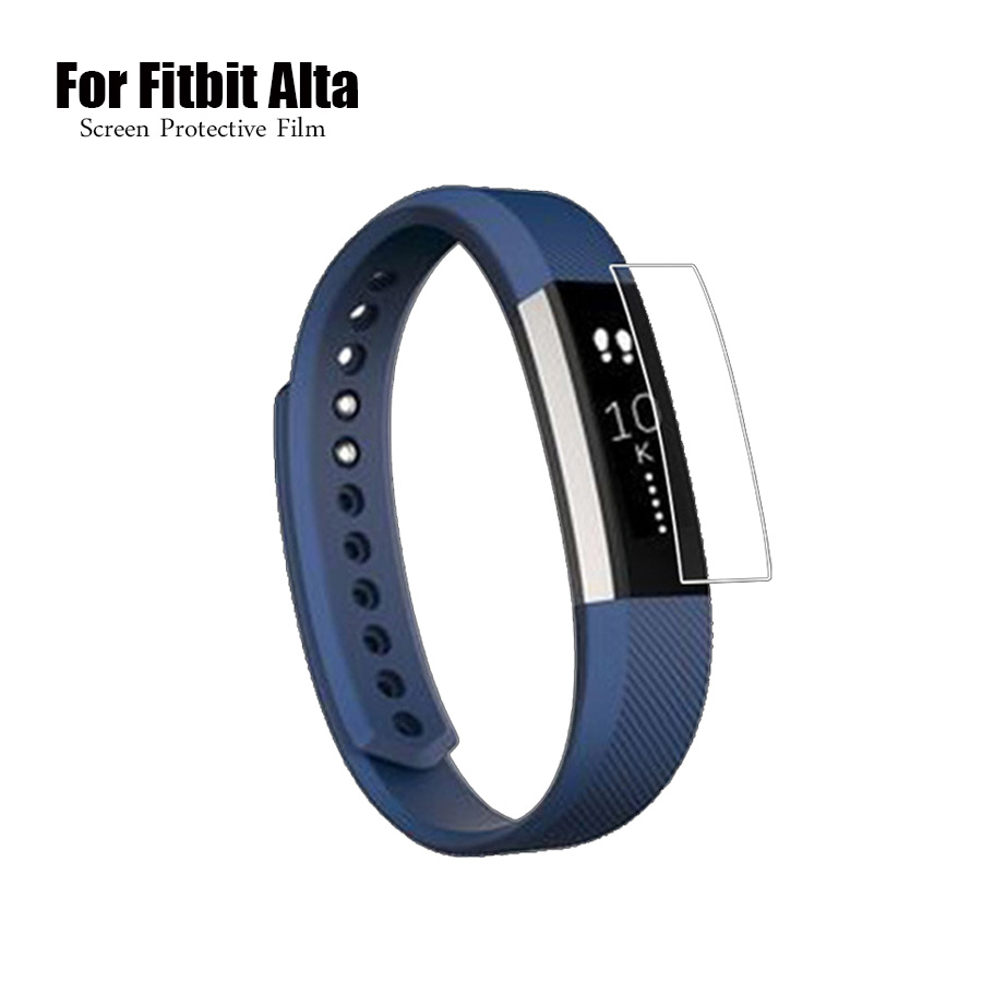 Full Cover HD Screen Protector Film For Fitbit Alta Smart Watch TPU Ultra Thin High Definition Protective Film