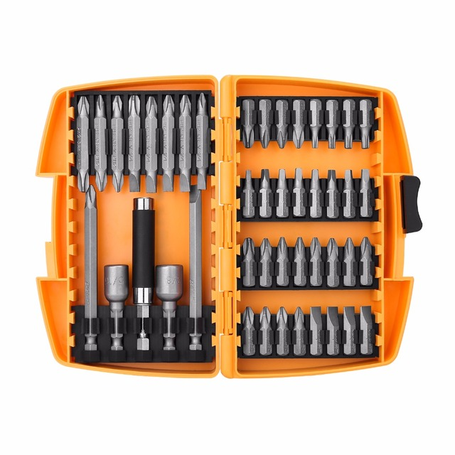DEKO 46 in 1 Screwdriver Set Phillips/Slotted Bits With Magnetic Multi Tool Home Appliances Repair Hand Tools Kit 2