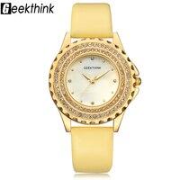 font b geekthink b font luxury quartz watch woman gold fashion casual analog leather wristwatch.jpg 200x200