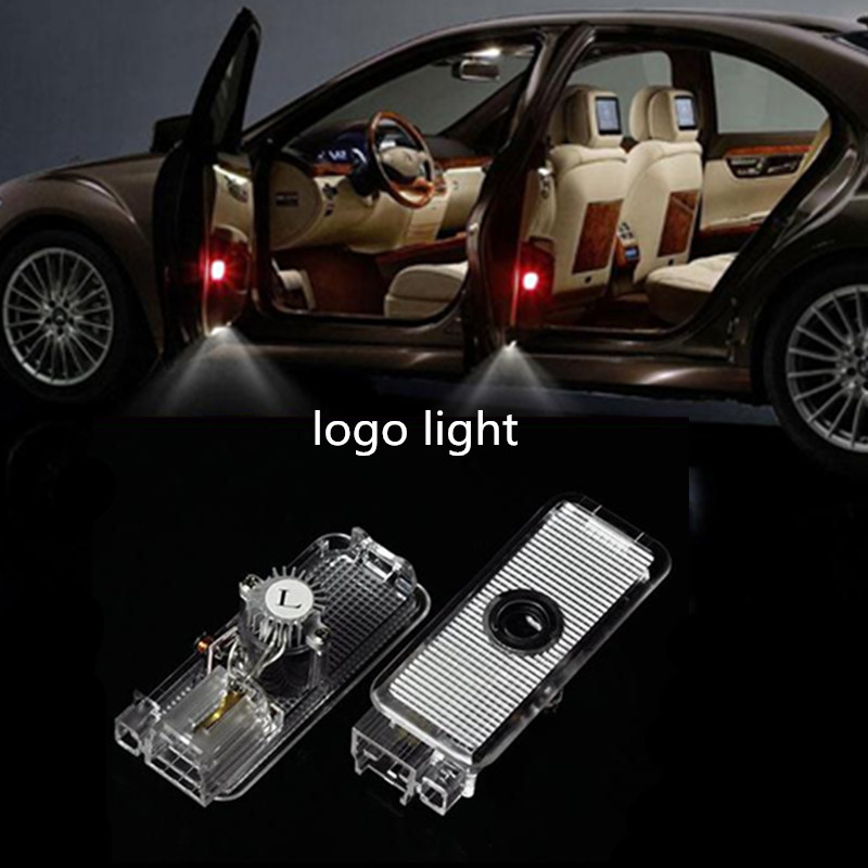2pcs/lot Car Courtesy ghost shadow welcome Laser logo projector door light For Citroen Ctriomphe C2 C8 C5 C4 C3 C6 Grand Picasso
