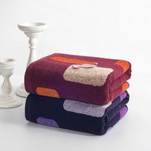 70140cm high quality cotton bath towels for adults jacquard decorative elegant beach bath towels bathroom terry bath towels